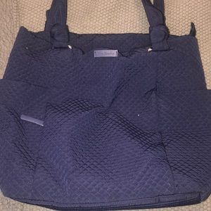 Vera Bradley Tote with Pockets (Navy)